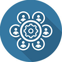 Groeps logo van Medewerkers Leren en Ontwikkelen en HRM